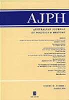 Australian Journal of Politics and History