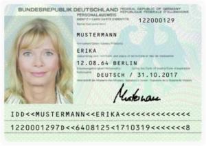 Ewr-Personalausweis