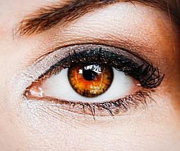 Braune Augen In Blau Lasern