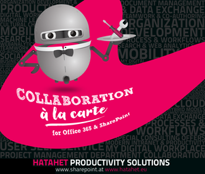 Mehr Productivity-Informationen finden Sie im Blog sharepoint.at (© HATAHET)