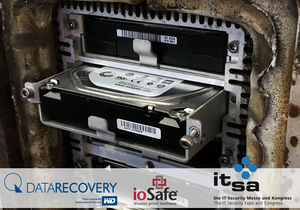 DATARECOVERY® mit ioSafe® auf der IT-SA 2017 (© DATARECOVERY®)