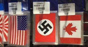 Hakenkreuz Sticker Als Deutsche Flagge Verkauft