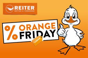 Kein Schwarzseher Betten Reiter Lanciert Orange Friday