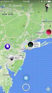 Snapchat Karte.Snapchat New York Wird Zu Jewtropolis