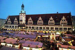 Leipziger Weihnachtsmarkt.Leipziger Weihnachtsmarkt 2018