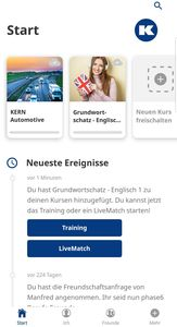 KERN Automotive Edition - Ansicht der App (© Vision Education)