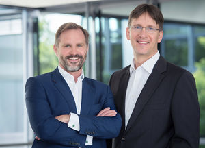 Management von maihiro products: Francisco Baraona (l.) und Szabolcs Veres (r.)