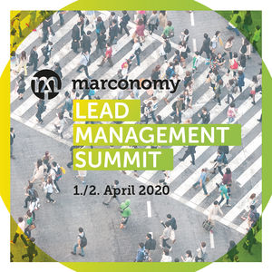 Lead Management Summit wird per Webinar-Software übertragen (© marconomy)