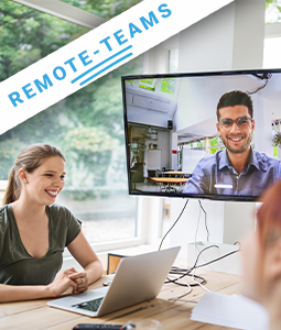 Remote-Teams managen - CEO Dr. Karoline Simonitsch weiß, wie (© go4health GmbH)