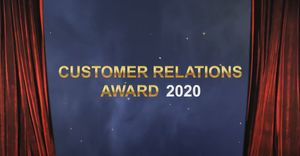 Customer Relations Award 2020 (Copyright: cmm360.ch)