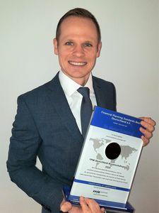 Dr Stefan Schelling, lauréat du FPSB Science Award 2020 (© FPSB)